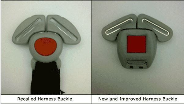 graco recall buckle